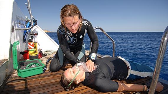RDS Button duikopleiding Padi EFR